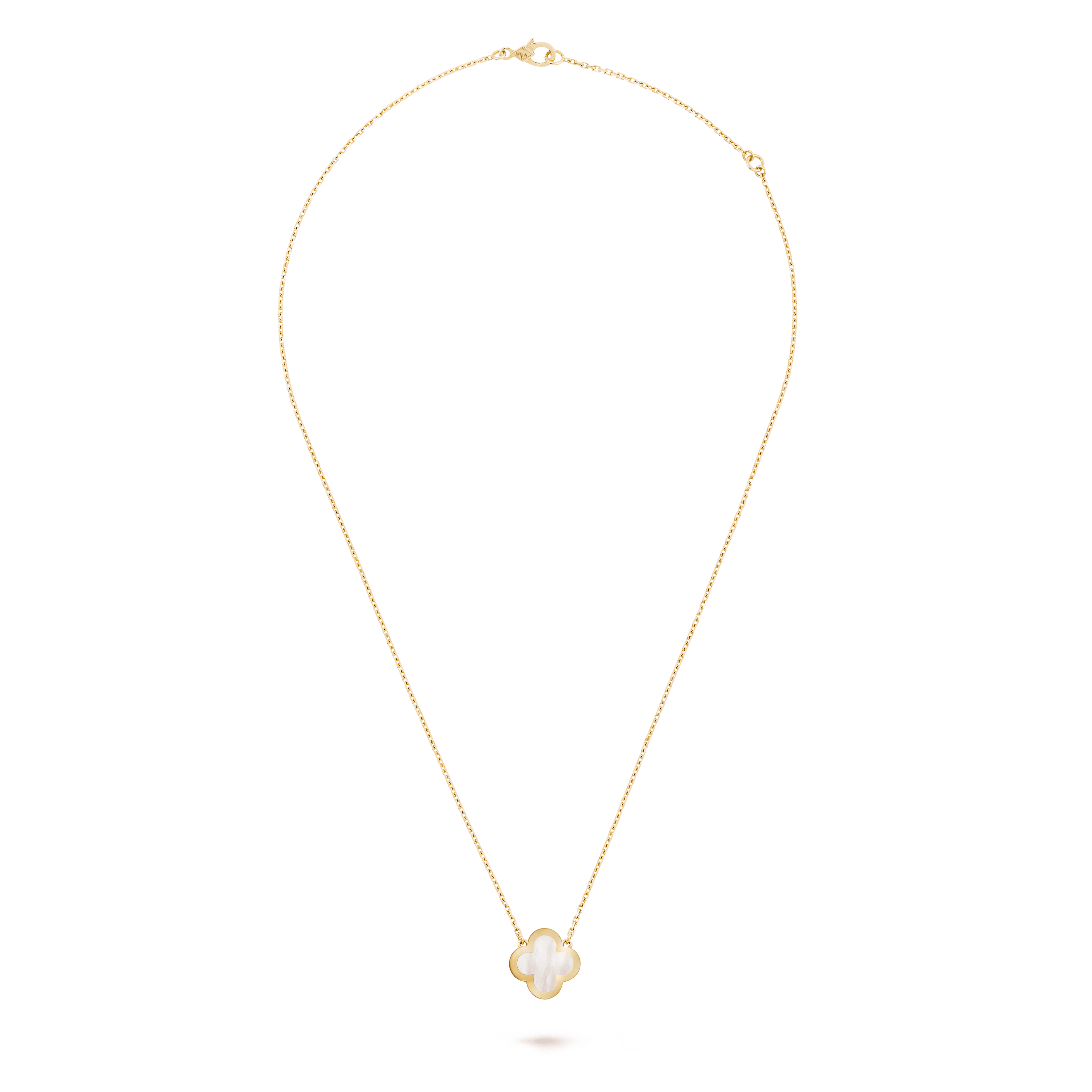 Pure Alhambra pendant, - Front View - VCARA39700 - Van Cleef & Arpels